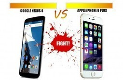 Nexus 6 vs iPhone 6 Plus - La guerre des 6 aura bien lieu ! | Télephonie mobile et nouvelles technologies | Scoop.it