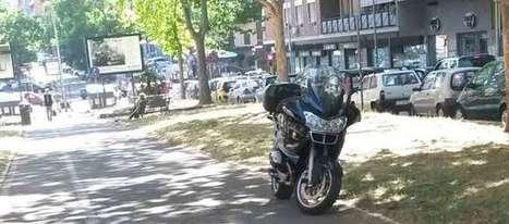 Appio Tuscolano: auto e moto bloccano l'accesso alle ciclabili - RomaToday | 16bici | Scoop.it