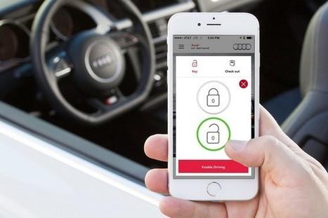 #Audi se lance dans la location de voiture à la demande via le #mobile   Environnement Digital   Scoop.it