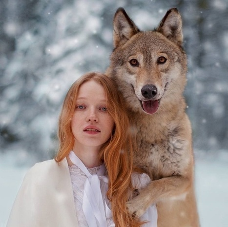 Dreamy Portraits of Women Living in Harmony with Wild Animals | Le It e Amo ✪ | Scoop.it