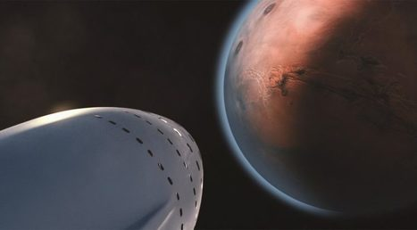 SpaceX unveils Mars mission plans | SpaceNews.com | The NewSpace Daily | Scoop.it