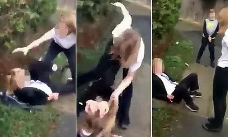 Horrific video shows schoolgirl bully beating up 13-year-old girl | Policing news | Scoop.it