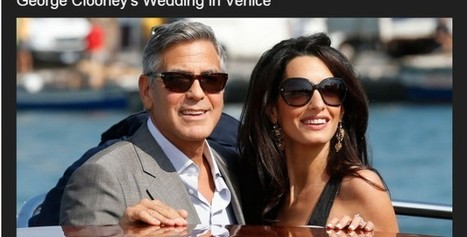Hollywood's most eligible bachelor just tied the knot !! | CHICS & FASHION | Scoop.it