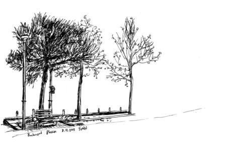 Yvain Reydy — Boulevard de Blossac, Châtellerault (86), en... | Chatellerault, secouez-moi, secouez-moi! | Scoop.it