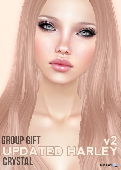 Harley v2 Skin Crystal Fat Pack Group Gift by Pink Fuel | Teleport Hub - Second Life Freebies | Second Life Freebies | Scoop.it
