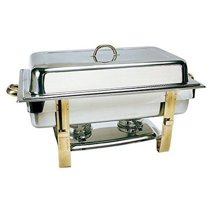 Reviews this Update International DC-6N Stainless Steel Gold-Accented Chafer, 8-Quart, Oblong | Specialty Cookware Reviews | Scoop.it