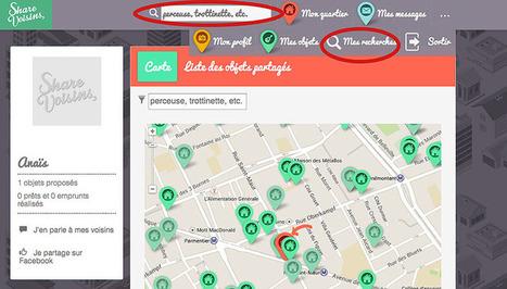 ShareVoisins, le site qui facilite l'échange d'objets entre voisins ! | Médias sociaux, web et institutions publiques | Scoop.it