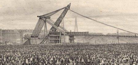 25 octobre 1836, le jour où l'obélisque se dressa dans le ciel parisien | Exposition Le Voyage de l'obélisque 12 février - 6 juillet 2014 | Scoop.it