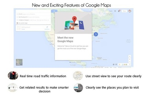 Check Out the New and Exciting Features of Google Maps | Syntactics Inc - Business Process Outsourcing in the Philippines | curations | Scoop.it