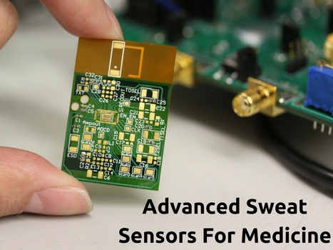 Advanced Sweat Sensors For Medicine | Healthcare and Technology news | Scoop.it