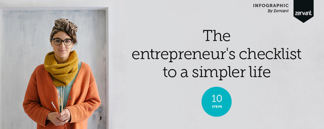 Infographic: The entrepreneur's checklist to a simpler life | Entrepreneurship in the World | Scoop.it