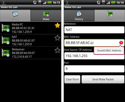 Best Five Free Wake On Lan Android Apps | formation 2.0 | Scoop.it