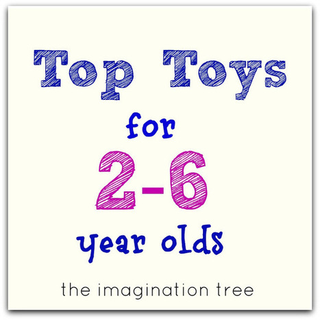 The Imagination Tree: Top Toy List for 2-6 Year Olds!   Kindergarten   Scoop.it