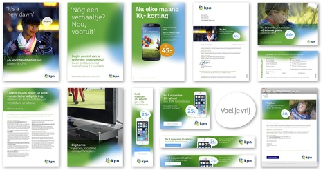 KPN kiest Dietwee voor revitalisering merkstijl | Corporate Identity | Scoop.it