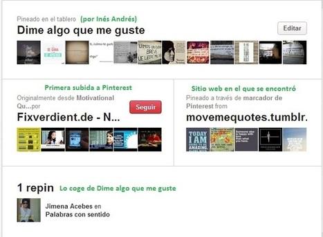 Pinterest: tableros para organizar y compartir imágenes @enlanubetic | Pedalogica: educación y TIC | Scoop.it