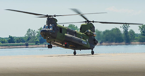 Boeing completes delivery of Canadian CH-147F Chinooks | Space | Scoop.it