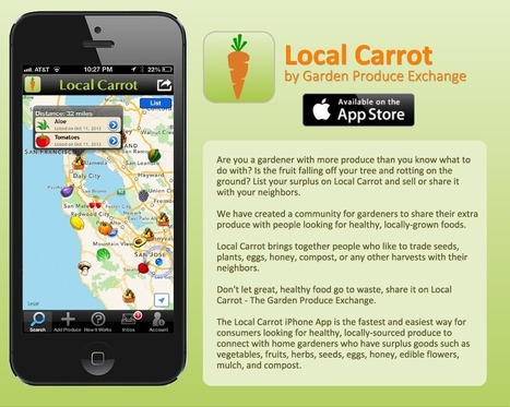 Fresh produce in your neighborhood | Garden apps for mobile devices | Scoop.it