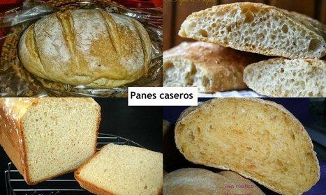 Recuperamos el sabor del pan auténtico con 8 recetas de panes caseros espectaculares   cocina   Scoop.it