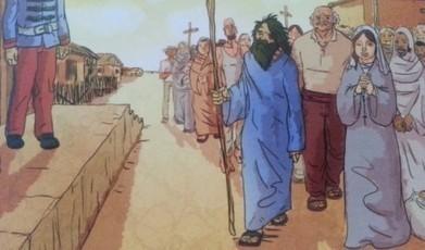 Nova história em quadrinhos retrata a Guerra de Canudos | Litteris | Scoop.it