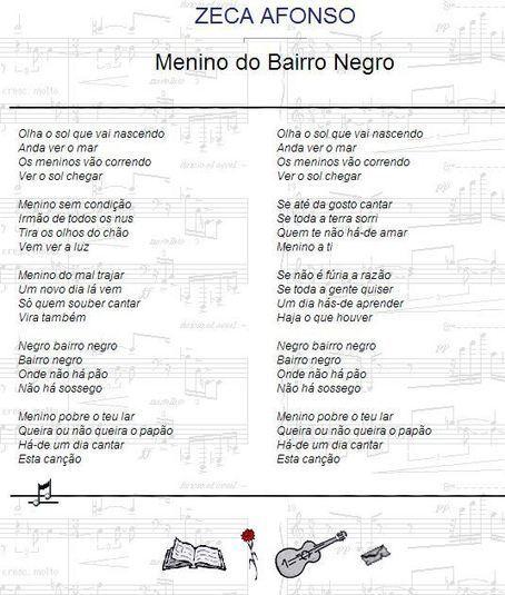 """Menino do Bairro Negro"" - José Afonso | WEBFOLIO | Scoop.it"
