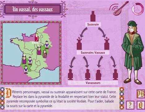 Comment s'est faite la France ? | Des jeux autorisés au CDI | Scoop.it