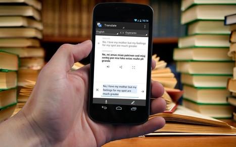 Dossier/Tutoriel : Google Traduction, le mode conversation (épisode 3)   Time to Learn   Scoop.it