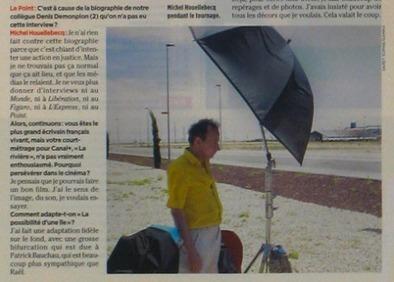 Photo: De Houellebecq au drapeau, Broisat fait dans le détail  - Rue89 | PhotoActu | Scoop.it