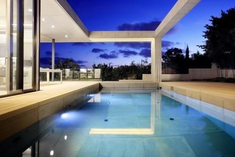 Villa de luxe faite de verre et de béton   Griffuze   Scoop.it