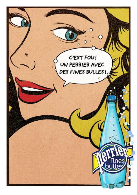 Perrier : une campagne publicitaire Pop Art | Design Party | Campagnes et e-publicité | Scoop.it