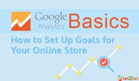 Google Analytics Basics: How to Set Up Goals for Your Online Store   Cart2Cart   Scoop.it