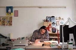 Where the magic happens: children's illustrators open up their studios - in pictures | Formar lectores en un mundo visual | Scoop.it