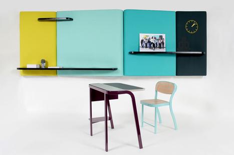 studio brichetziegler + students re-design school furniture - designboom | Avant-garde Art & Design | Scoop.it