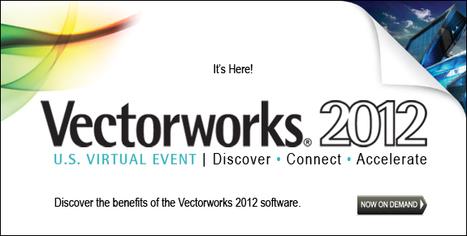 CAD and 2D/3D BIM solutions for design - Vectorworks 2012. | Logiciels d'architecture | Scoop.it