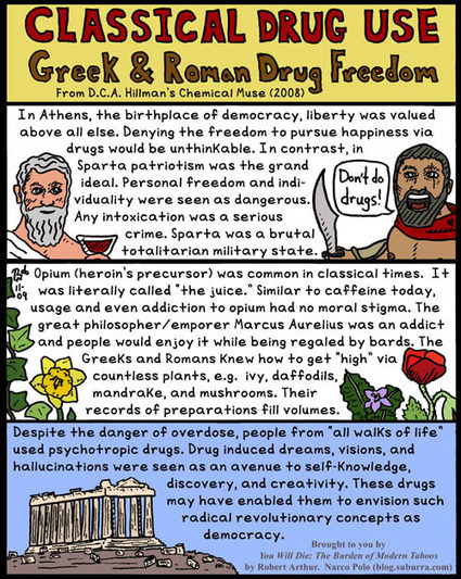 Classical Drug Use: Greek and Roman Drug Freedom | Cultura Clásica | Scoop.it
