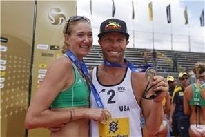 USA's Walsh & Jennings make World Tour history   FIVB - Press ...   asap history   Scoop.it