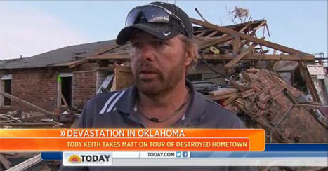 Toby Keith Inspects Tornado Damage in Oklahoma Hometown | Oklahoma Relief Concert Huge Success | Scoop.it