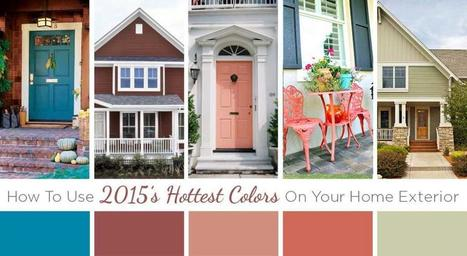 Color Trends: How To Use The Hottest Colors For 2015 On Your Home Exterior | DaVinci Roofscapes | Color For Your Home | Scoop.it
