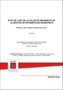 État de l'art de la collecte séparée et de la gestion de proximité des biodéchets (Français/Anglais) - Publications ADEME | Les éco-activités dans le monde | Scoop.it