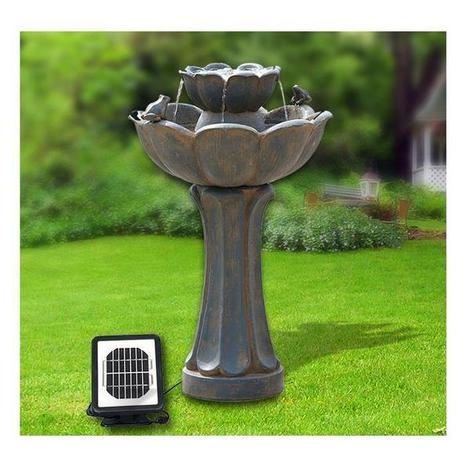 Solar Powered Water Fountains | Garden and Home Improvement | Scoop.it