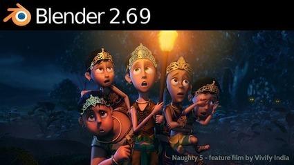 Blender 2.69 disponible en téléchargement, découvrez les nouvelles fonctionnalités du logiciel de modélisation 3D libre et open source | Education & Numérique | Scoop.it