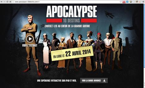 """Apocalypse 10 destins"", le webdoc interactif | Résistance Inventerre | Webdocs typiques | Scoop.it"
