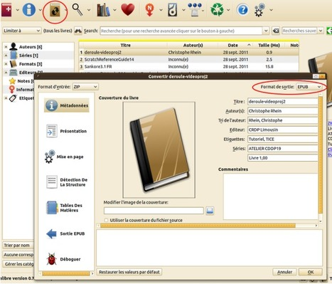 Utiliser le logiciel CALIBRE pour gérer vos documents et les convertir au format ePub | Moodle and Web 2.0 | Scoop.it