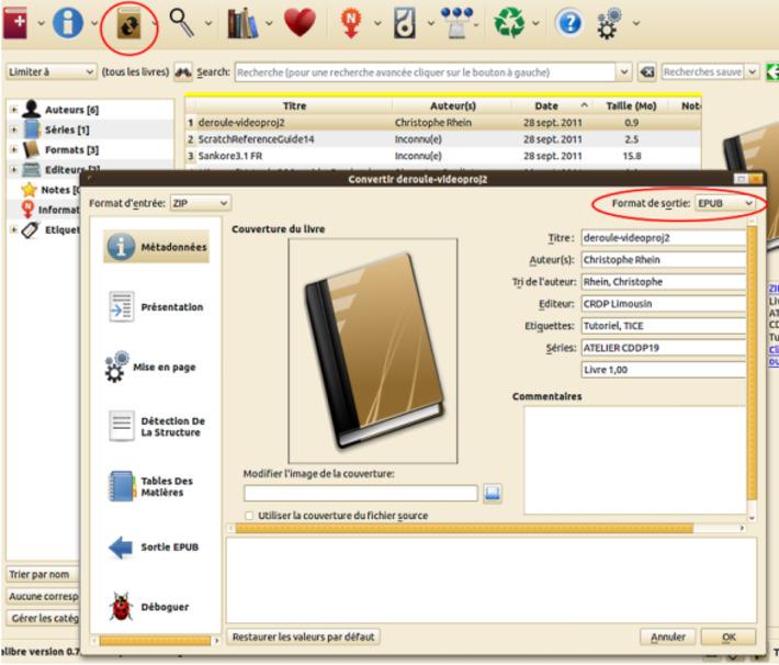 Utiliser le logiciel CALIBRE pour gérer vos documents et les convertir au format ePub   MOOC Francophone   Scoop.it