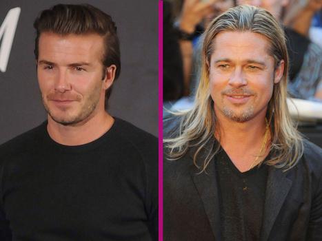 David Beckham incarné par Brad Pitt au cinéma ?   divertissement   Scoop.it