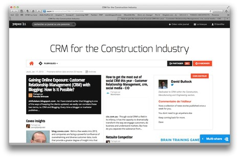 CRM for the Construction Industry | Social Media Management | Scoop.it