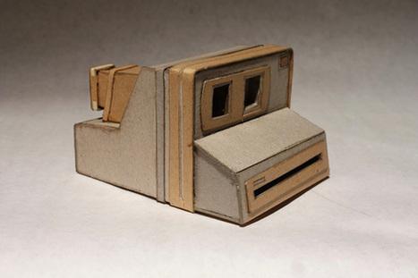 Cardboard Cameras by Kiel Johnson | meubles et objets en carton | Scoop.it