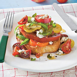 24 Recipes for Fresh Tomatoes | Neverending Healthy Recipes | Scoop.it