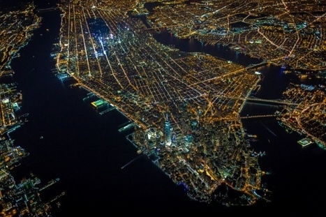 Vincent Laforet's night aerials of New York – in pictures | Oh, you pretty things! | Scoop.it