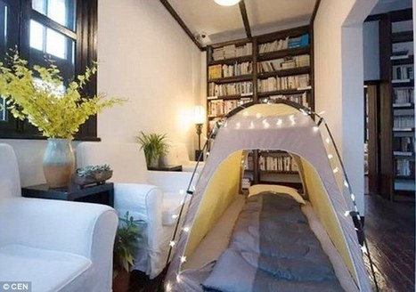 Chinese bookstores now have SLEEPING space for bibliophile backpackers | Libraries, Books, and Writing | Scoop.it