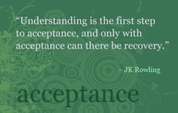 The Challenge of Acceptance with PTSD, Panic and Anxiety - Inspir3 | Personal Development & Improvement | Scoop.it